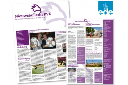 Nieuwsbrief PVE Gemeente Ede