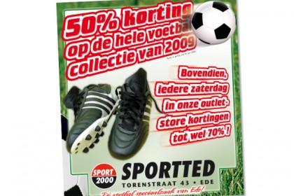 Actie advertentie SportTed
