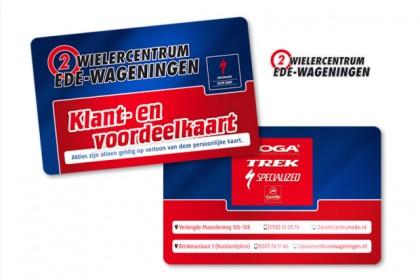 Klant-en-voordeel card 2-Wielercentrum Ede