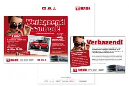 Huisstijl Autobedrijf Braber