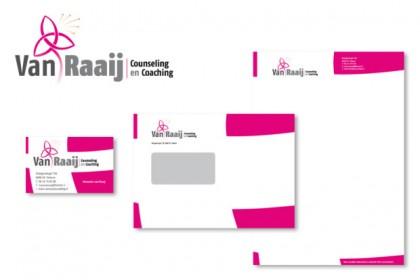 Huisstijl Van Raaij counseling en coaching
