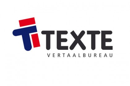Logo ontwerp vertaalburo Texte