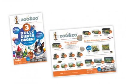 Actie advertenties ZOO&ZO