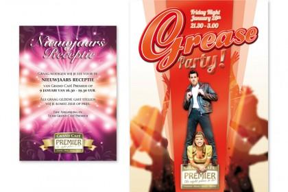 Uitnodigingskaart en poster