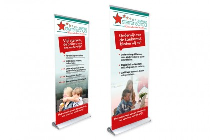 Rolbanners Sterrenschool