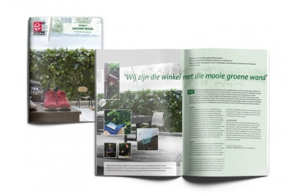 Projectfolder interieurbeplanting Koninklijke Ginkel Groep